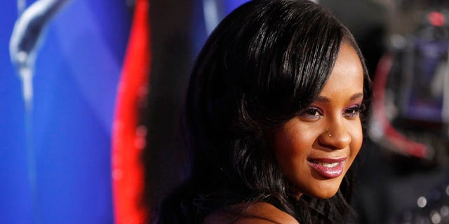 """Aug. 16, 2012: Bobbi Kristina Brown, daughter of the late singer Whitney Houston, poses at the premiere of """"Sparkle"""" in Hollywood, California."""