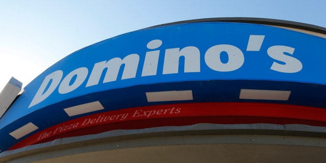 Oct. 16, 2012: Signage at a Domino's pizza restaurant is pictured in Burbank, California October 16, 2012.