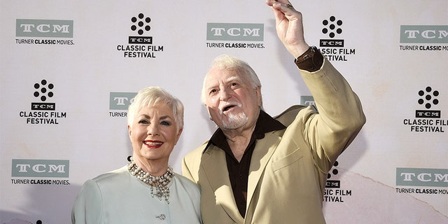 Shirley Jones pictured with husband Marty Ingels. The comedian passed away in 2015 at age 79.