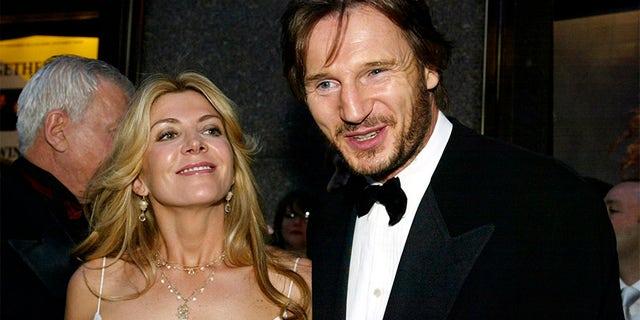 Richardson with her husband, Liam Neeson.