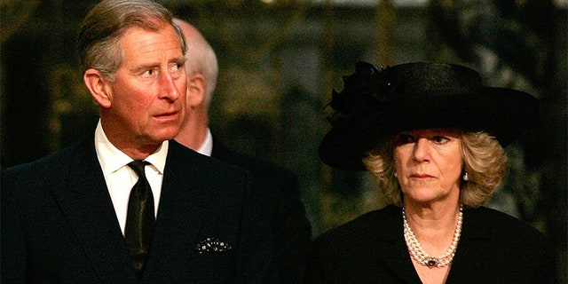 Prince Charles and his wife Camilla, Duchess of Cornwall.