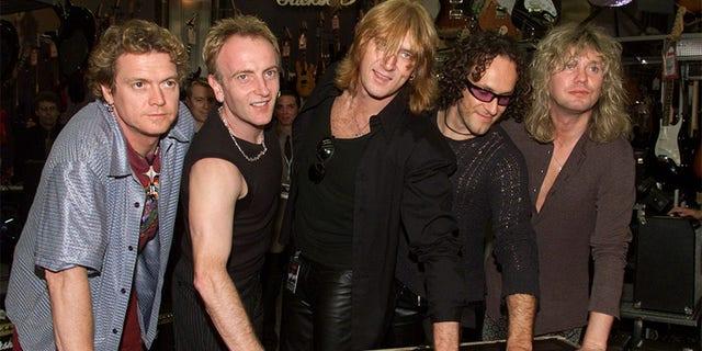 Classic rock hits china strip club