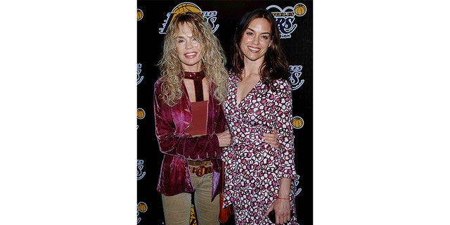 Dyan Cannon with her daughter, Jennifer Grant.