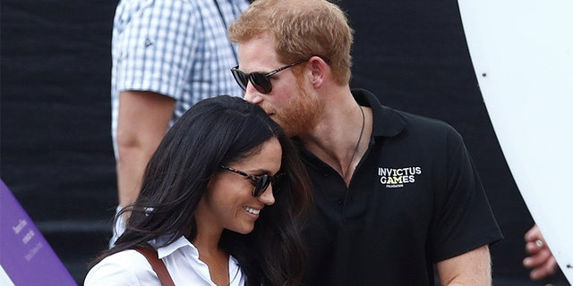 Prince Harry and Meghan Markle made their first public appearance as a couple at the Invictus Games.