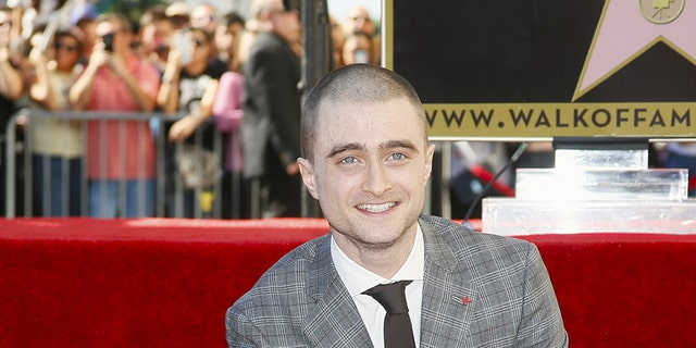 Daniel Radcliffe has already earned a star on Hollywood's Walk of Fame.