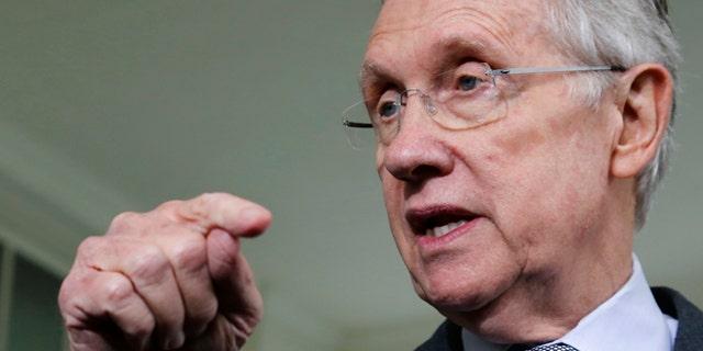 U.S. Senate Majority Leader Harry Reid (D-NV).