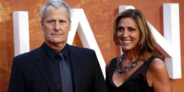 Jeff Daniels and his wife Kathleen Treado.