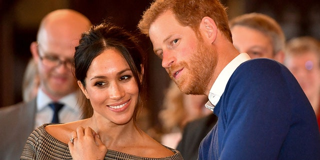 Markle and Prince Harry enjoying activities at Cardiff Castle in Wales, England.