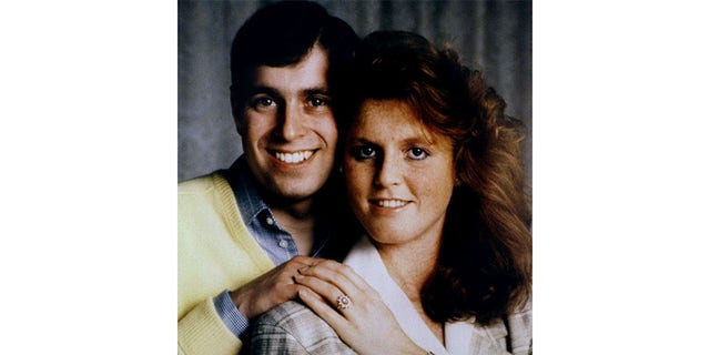 Sarah Ferguson, Duchess of York, with then-husband, Prince Andrew.