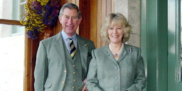 Charles and Camilla in 2005.