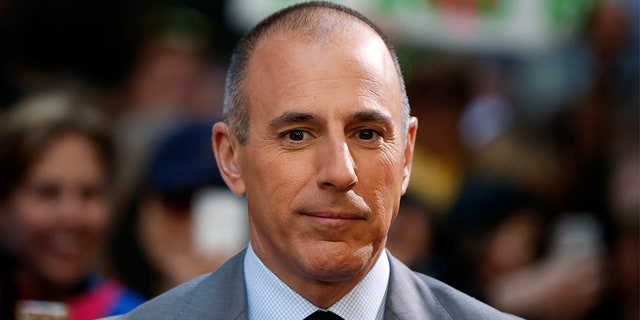 """Fallen """"Today"""" show anchor Matt Lauer addressed the sexual misconduct allegations in late 2017."""
