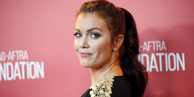 """Scandal"" actress Bellamy Young said the veteran host should ""step aside."" from his Oscars gig."
