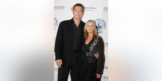 "Bo Derek, left, and John Corbett have gone 15 years without walking down the aisle. The ""Sex and the City"" star began dating Derek in 2002, and told Fox News in 2017 that faith has kept him grounded over the years."