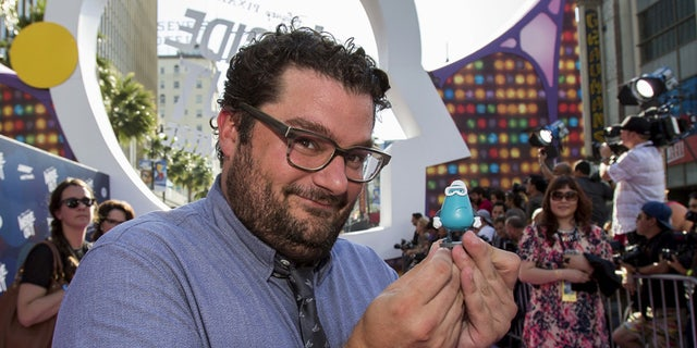 """Cast member Bobby Moynihan poses at the premiere of """"Inside Out"""" at El Capitan Theatre in Hollywood."""