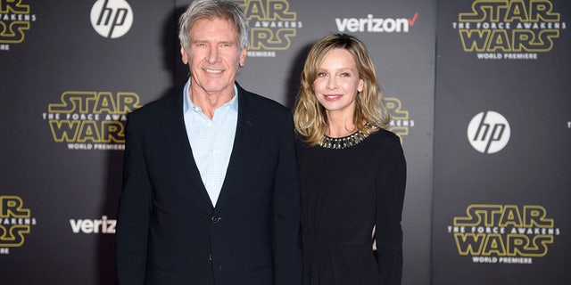Harrison Ford and his wife, actress Calista Flockhart, will celebrate their 10th wedding anniversary this June.