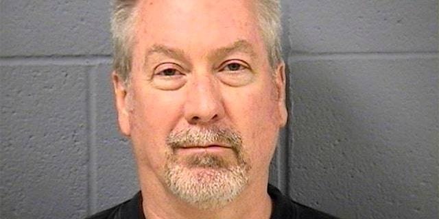 Former police sergeant Drew Peterson is pictured in this booking photo, released by the Will County Sheriff's Office in Illinois, United States on May 8, 2009.