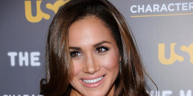 Actress Meghan Markle attends the USA Network and The Moth's Characters Unite Event at the Pacific Design Center in West Hollywood, California February 15, 2012. REUTERS/Phil McCarten (UNITED STATES - Tags: ENTERTAINMENT) - GM1E82G18HD01