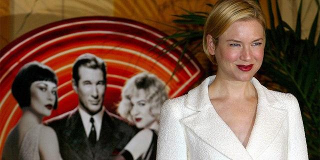 "Renee Zellweger starred in the movie ""Chicago"" alongside Richard Gere and Catherine Zeta-Jones."