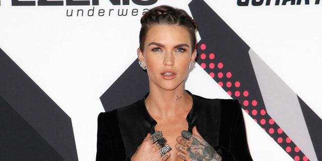 Actress Ruby Rose was named a many dangerous luminary to follow on amicable media in 2018.