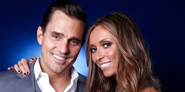 April 2, 2012: Bill and Giuliana Rancic pose for a portrait in New York.