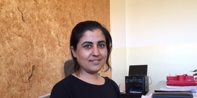 """Layla Mustafa, co-chair of the Raqqa Civilian Council, stressed that crews don't know what they will find as the area is """"cleaned"""" of mines and traps."""