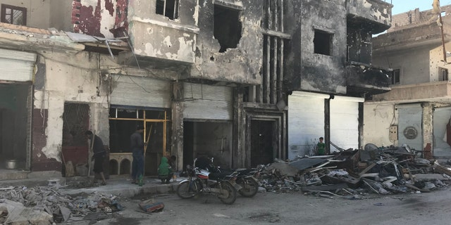 The wartorn Syrian city of Raqqa was liberated from the Islamic State terror network last year.