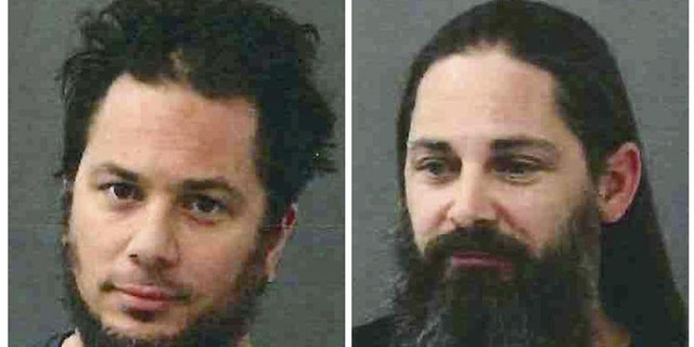 Two brothers were arrested for breach of peace.