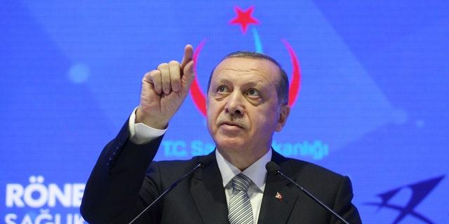 Turkish President Recep Tayyip Erdogan is not in favor of the new U.S. stance toward Jerusalem.