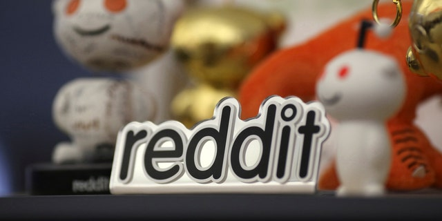 File photo - Reddit mascots are displayed at the company's headquarters in San Francisco, California April 15, 2014.