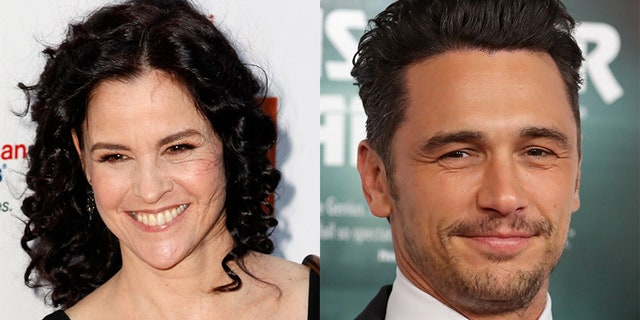 "Actress Ally Sheedy (left) of ""The Breakfast Club"" fame slammed James Franco's 2018 Golden Globe win, hinting he led to her decision to leave the entertainment industry. The actors worked together on the play ""The Long Shrift."""