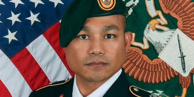 The U.S. military said Sgt. 1st Class Reymund Rarogal Transfiguracion, 36, from Waikoloa, Hawaii died Sunday from wounds he received earlier this month in southern Afghanistan. He was wounded when an improvised explosive device detonated near him while he was on patrol. (U.S. Army)