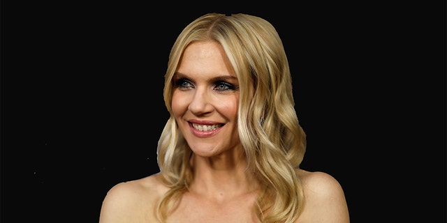 """The latest episode of """"Law and Order: SVU"""" depicted the rape of a conservative commentator portrayed by Rhea Seehorn, seen here."""