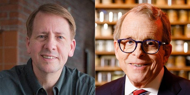 The Ohio governor's race between Democrat Richard Cordray, left, and Republican Mike DeWine, right, is tight with just weeks until the midterms.