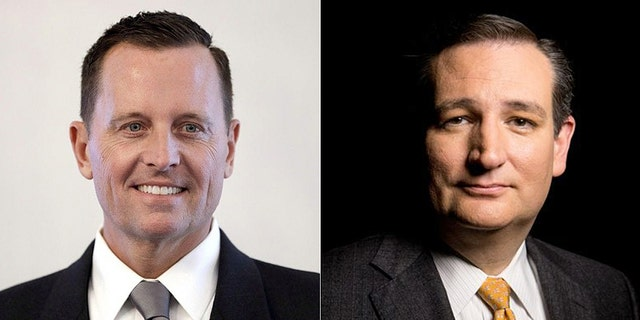 "US Ambassador to Germany Richard Grenell (left) has urged Germany to wind down its business with Iran; Senator Ted Cruz (pictured right) told Fox News it was ""distressing"" that some German politicians are straining relations with America to maintain ties with that kind of [Iran] regime"