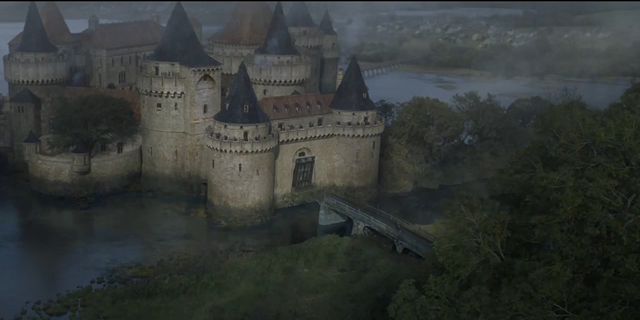 "Exterior shots of the castle were used for ""Game of Thrones,"" to depict House Tully."