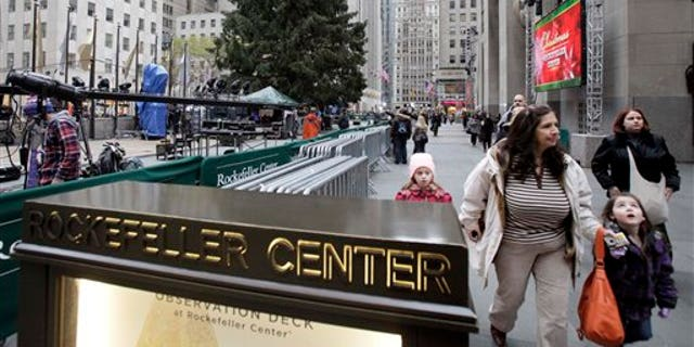 The NYPD has adjusted security measures at the Rockefeller tree lighting