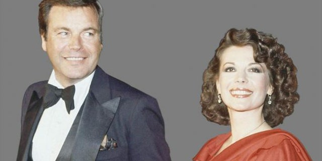Robert Wagner with Natalie Wood.