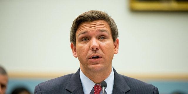 House Judiciary Committee member Rep. Ron DeSantis, R-Fla., testifies on Capitol Hill in Washington.