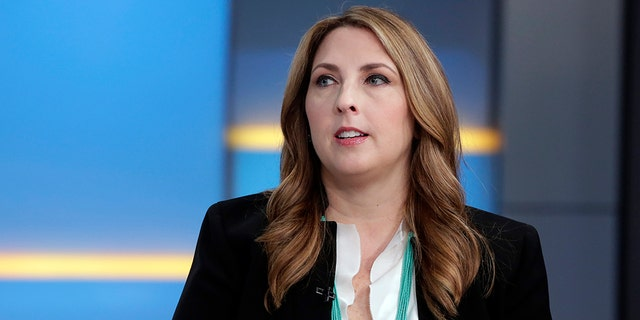 """The Republican National Committee chairperson, Ronna McDaniel, on """"Fox & Friends"""" back in May. Has she fallen prey to a Twitter """"shadow ban""""?"""