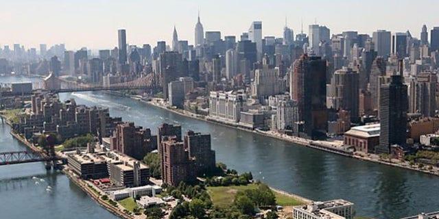 FILE: Undated: Roosevelt Island, between Manhattan and Queens, in New York City.