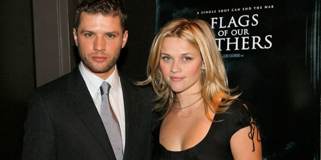 Actor Ryan Phillippe, left, was ordered by a judge to hand over text messages he exchanged with ex-wife Reese Witherspoon, right, regarding his ex-girlfriend in assault case.