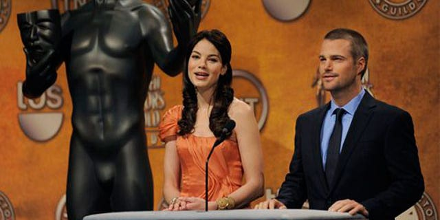 Dec. 17: ctors Michelle Monaghan, left, and Chris O'Donnell announce the nominations for the 16th Annual Screen Actors Guild Awards.
