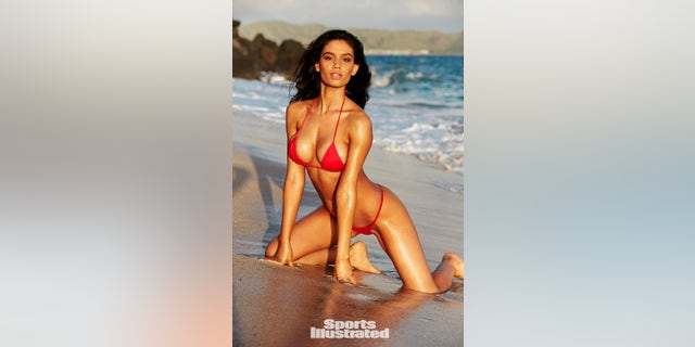 Anne de Paula poses in Nevis for Sports Illustrated's coveted Swimsuit issue.