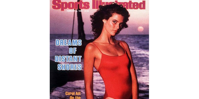 Carol Alt on the cover of Sports Illustrated.