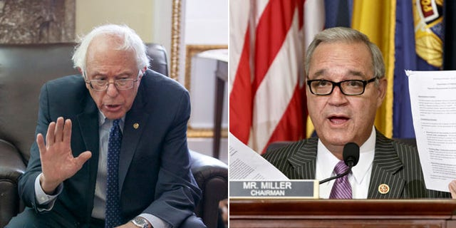 Senate Veterans Affairs Committee Chairman Sen. Bernie Sanders, I-Vt., Wednesday, July 23, 2014 and House Veterans Affairs Committee Chairman Jeff Miller, R-Fla., Thursday, July 24, 2014.