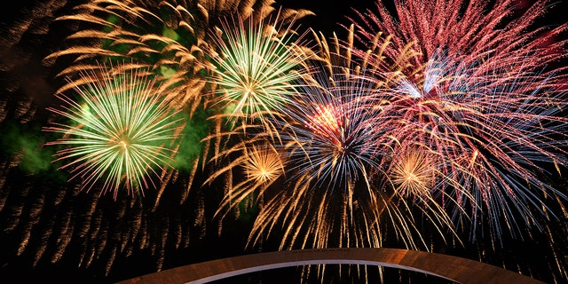 Head to the Gateway Arch Park for St. Louis' Fourth of July festivities.