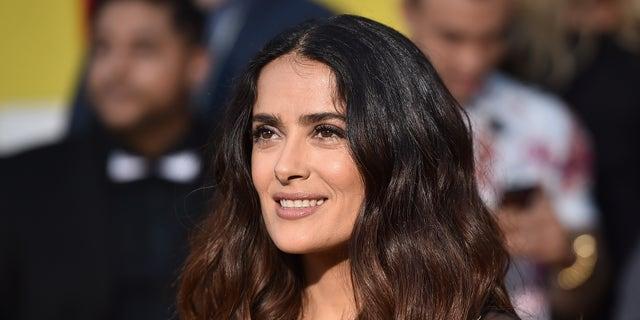 Salma Hayek Says Shes Proud Of Her Gray Hair Fox News