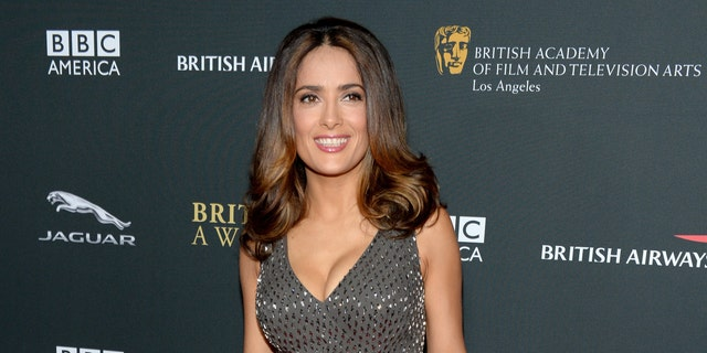 Salma Hayek admitted she thinks as she gets older she looks more beautiful.