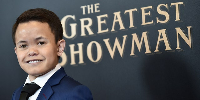 Sam Humphrey attends ''The Greatest Showman'' World Premiere aboard the Queen Mary 2 at the Brooklyn Cruise Terminal on December 8, 2017 in the Brooklyn borough of New York City.