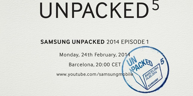 Feb. 4, 2014: An invitiation sent out via Twitter to a Samsung event at the Mobile World Congress show may hint at the release of the Galaxy S5 smartphone.